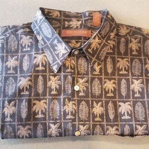 Tori Richard Honolulu short sleeve shirt. Size XL